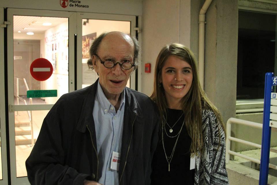 With Horacio Vaggione