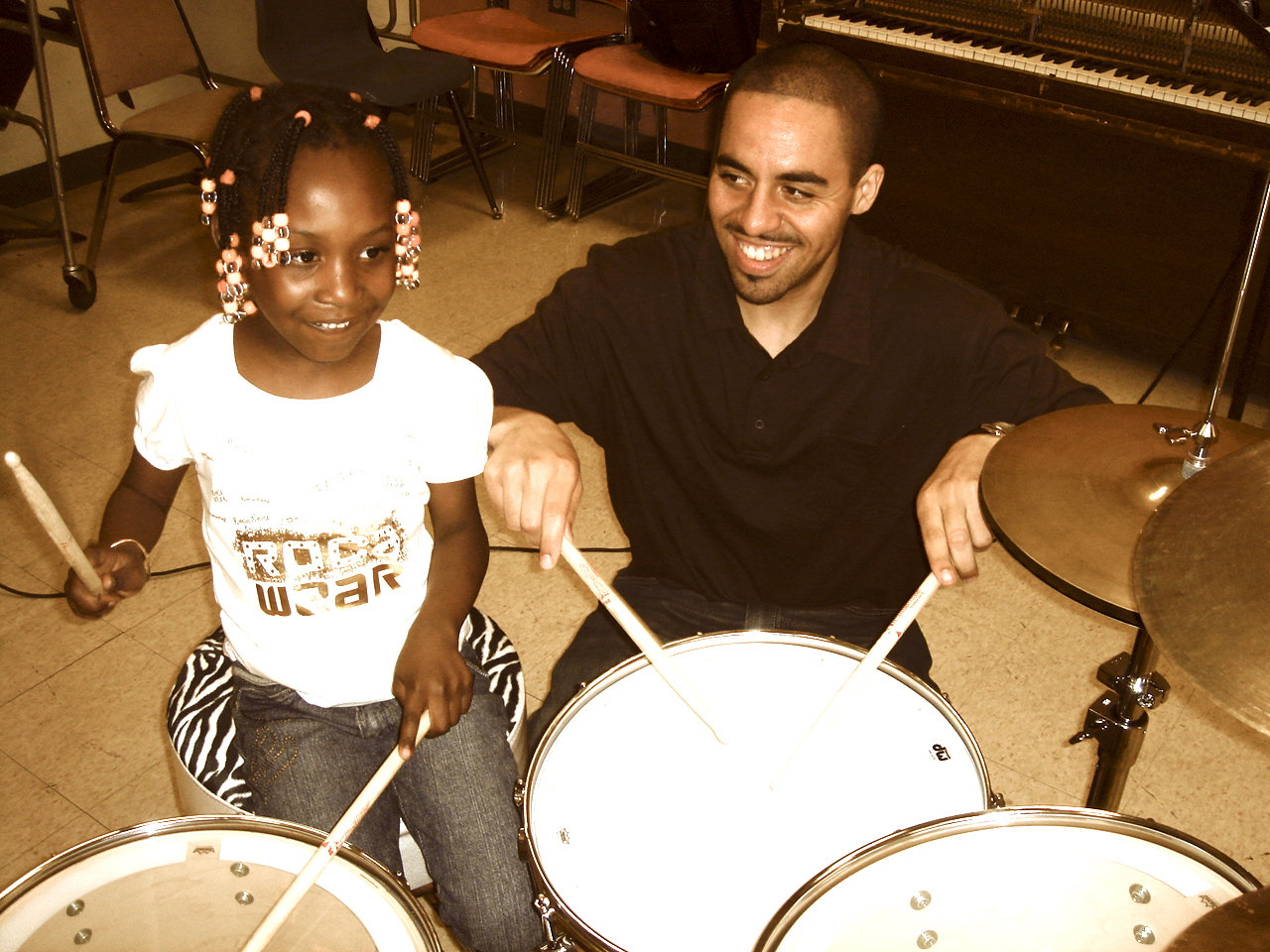 Begin/Intrm Drum set Lesson: 30 minutes