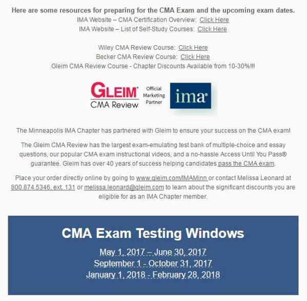 Cma test bank