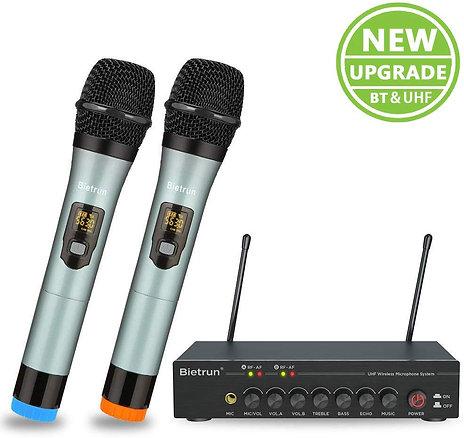 Wireless Microphone, With Echo Treble, Bass