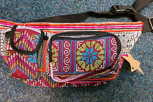 Colourful Hill Tribe Style Bumbag