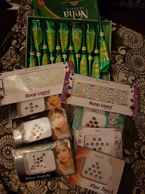 Henna & Bindi Bundle