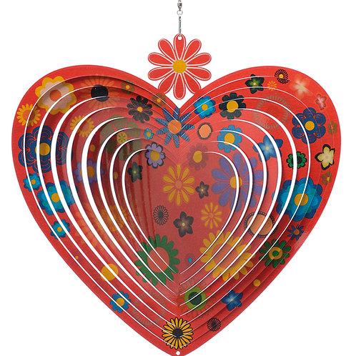 Heart Flowers Spinner