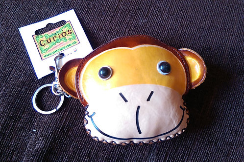Leather Monkey Purse