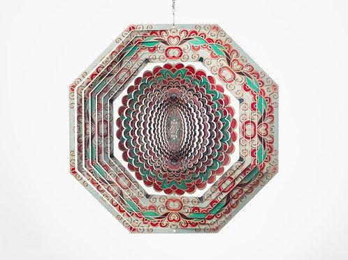 Deluxe Mandala Octagon Spinner