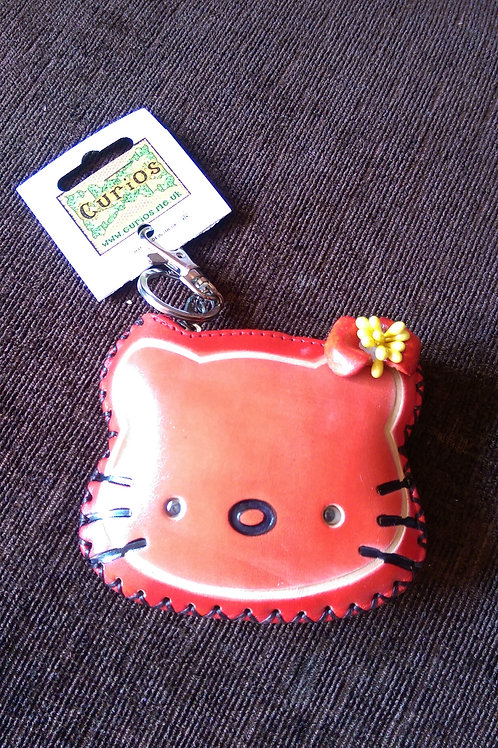 Leather Kitty Purse