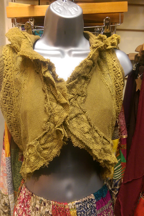 Short Ruffled Waistcoat
