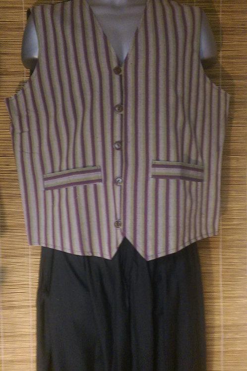 Mens Cotton Woven Waistcoat - Three Designs