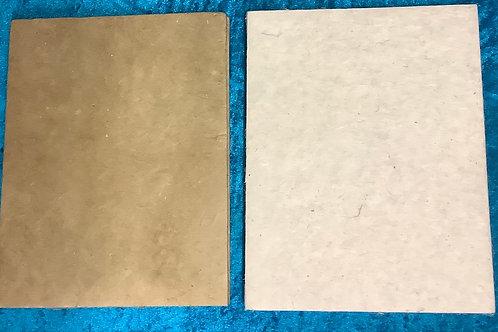 Handmade paper plain hard cover note books