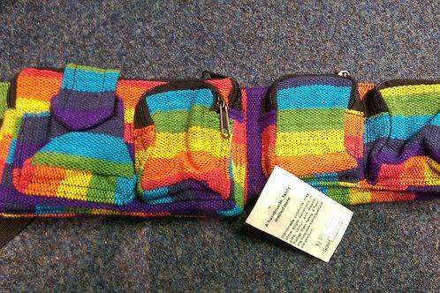 Rainbow Pocket Belt