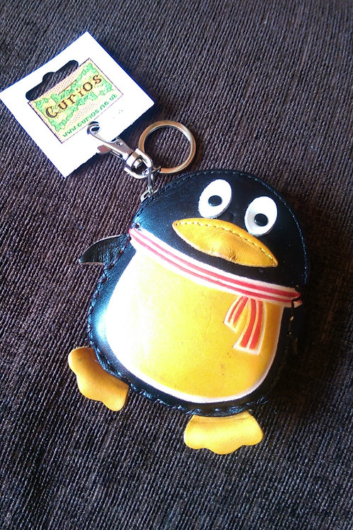Leather Penguin Purse