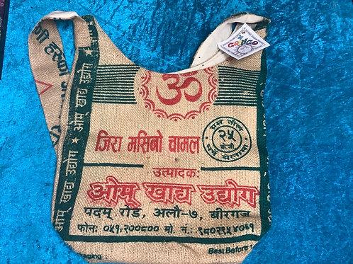 Recycled hemp tote bag