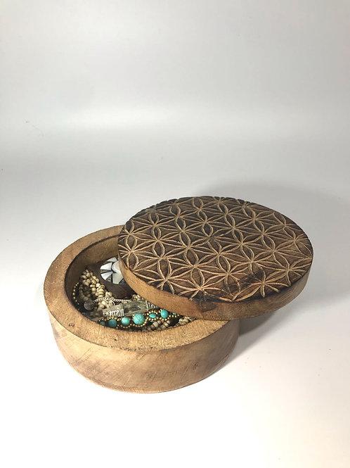 Box log mandala