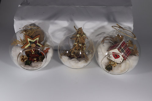 Large Glass Baubles