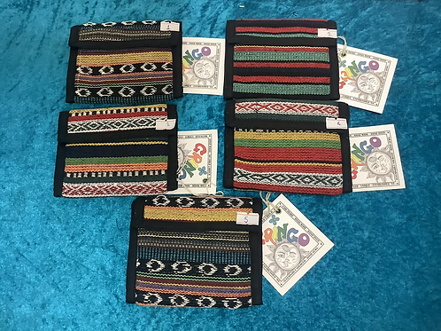 Gheri cotton wallets from Gringo