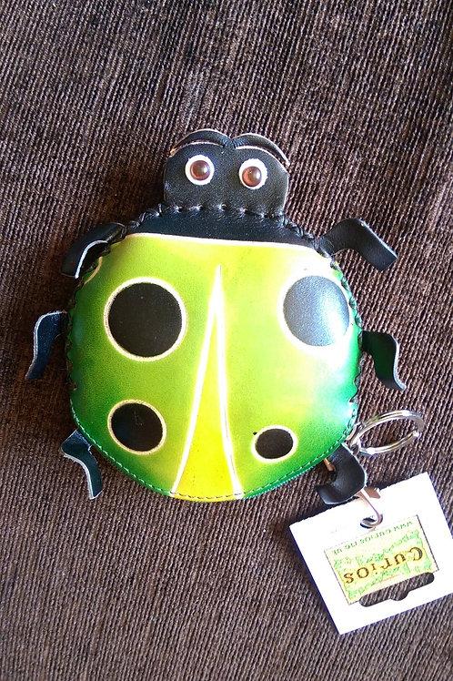 Leather Ladybird Purse