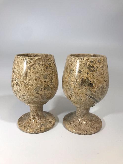 Fossilstone Goblet