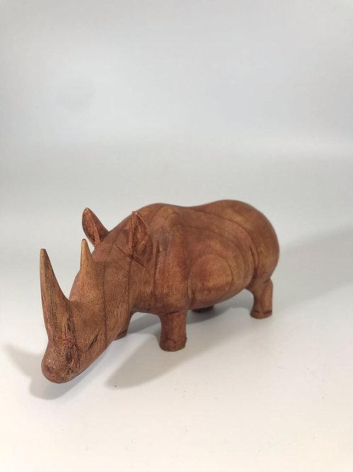 Rhino carving