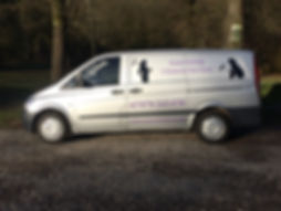 Susie Sweep Chimney Sweep Van
