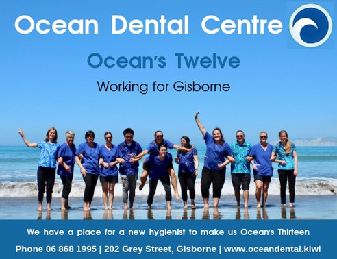 Ocean Dental Centre is looking for a hygeinist