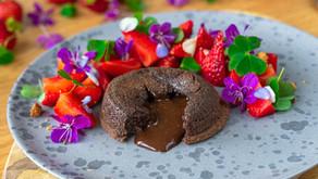 Sjokoladefondant - en herlig sommerdessert