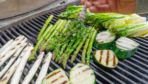 Grillet grønnsaksalat
