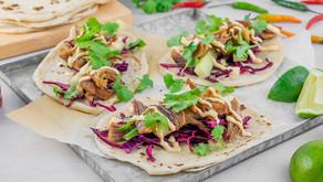 Taco med pinnekjøtt