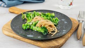 Kremet pasta med grønt