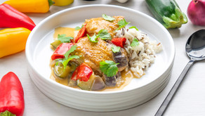 Red curry kyllinggryte