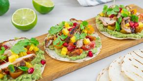 Taco med sprøstekt kylling