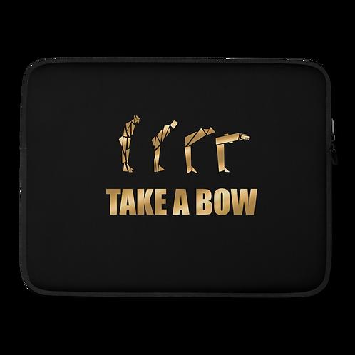 """Take A Bow"" Computer sleeve"