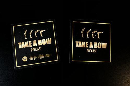 """Take A Bow"" Stickers"
