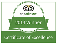 Certificate of excellence tripadvisor 2014