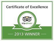 Certificate of excellence tripadvisor 2013