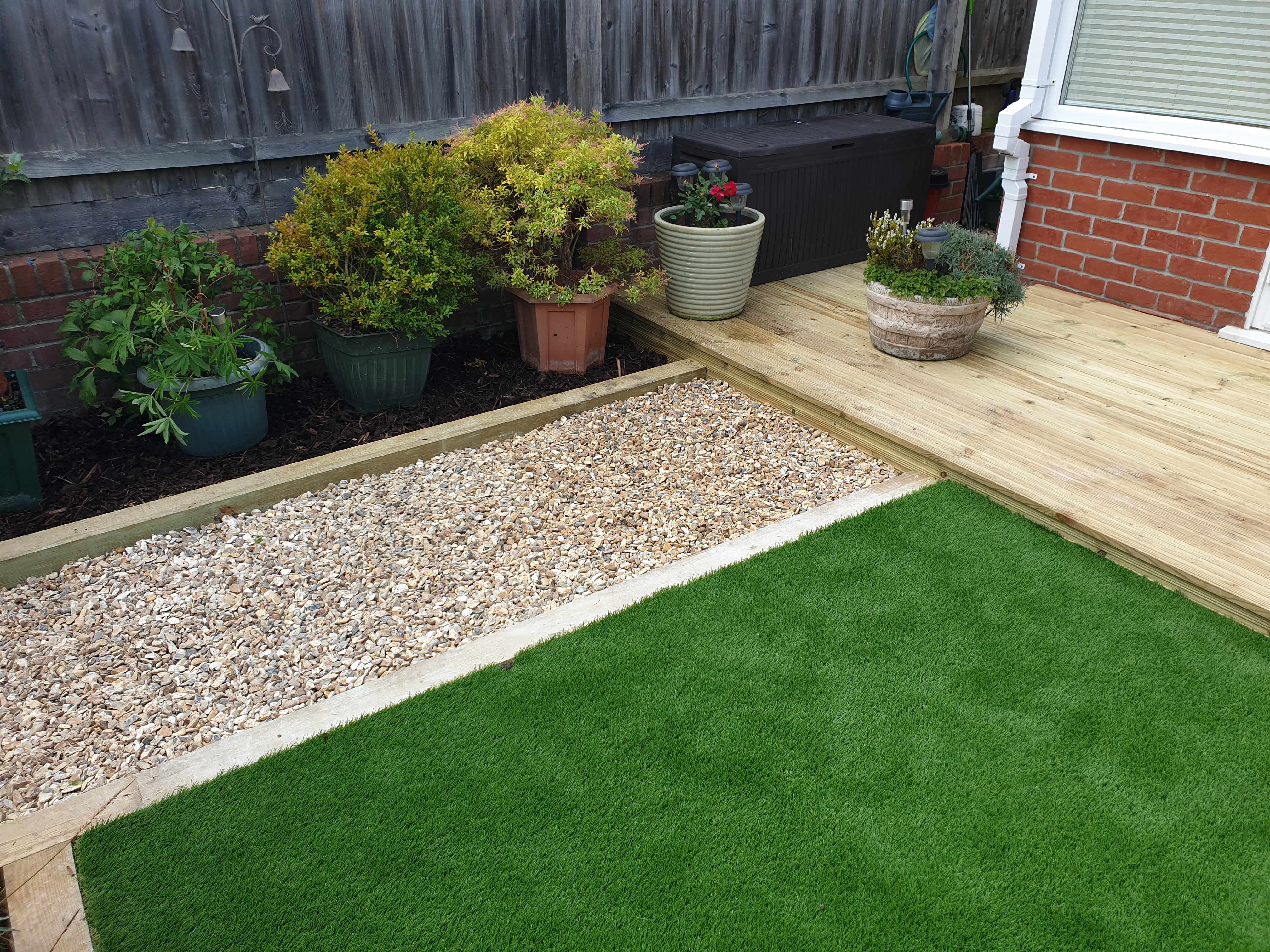 Decking, artificial grass, weymouth