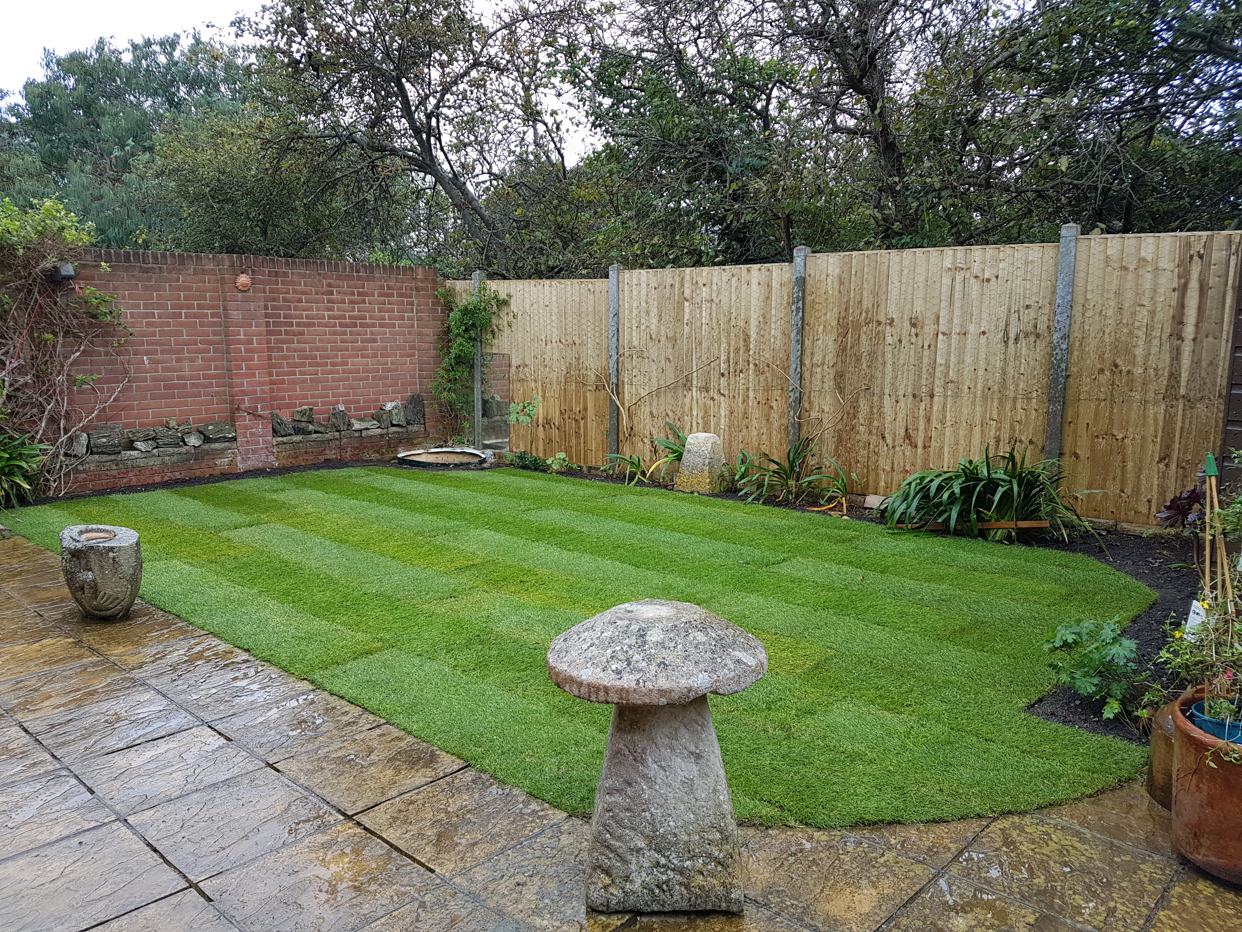 Turf Landscaping Dorchester Weymouth