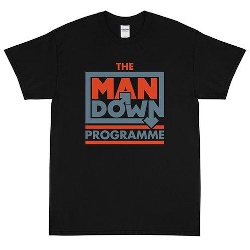 Man Down Programme Crewneck Tee