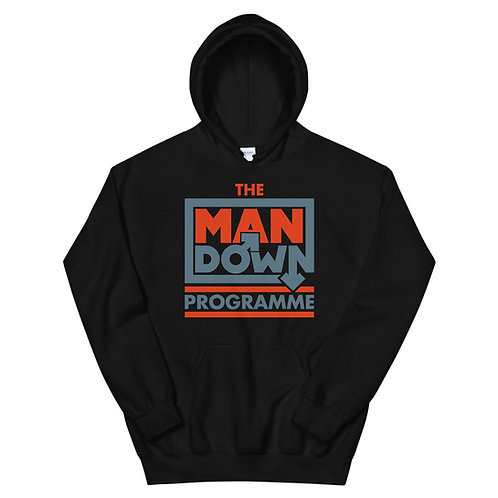 Man Down Programme Pullover Hoodie