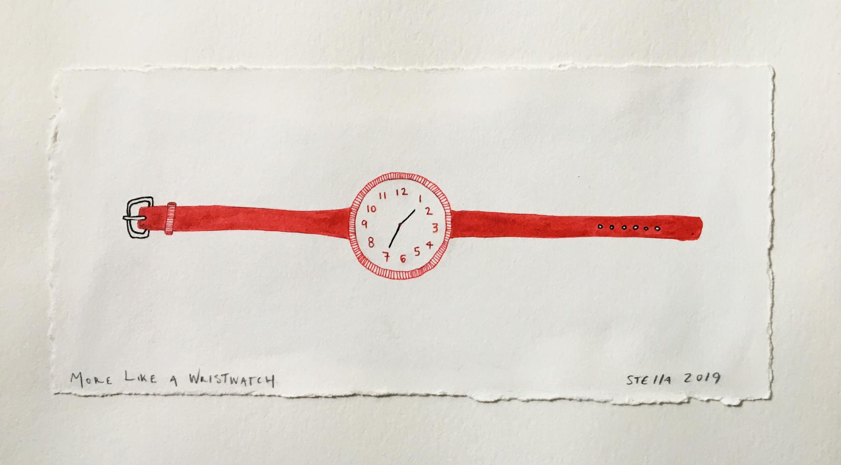 More like a Wristwatch