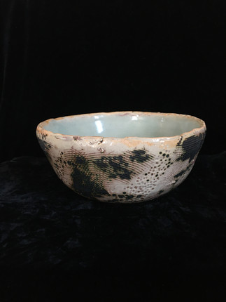 lumpy bowl 1, side view 2
