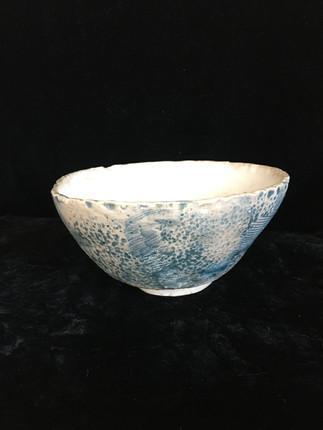 lumpy bowl 2, side view