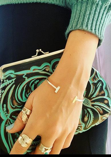 T Bar Open Cuff/Bracelet
