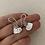 Thumbnail: Heart Drop Earrings