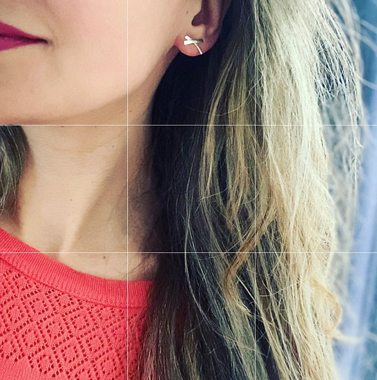 Kiss Stud Earrings