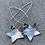 Thumbnail: Star Earrings Long
