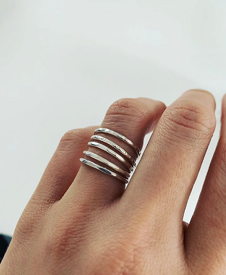 Five Stackable Rings