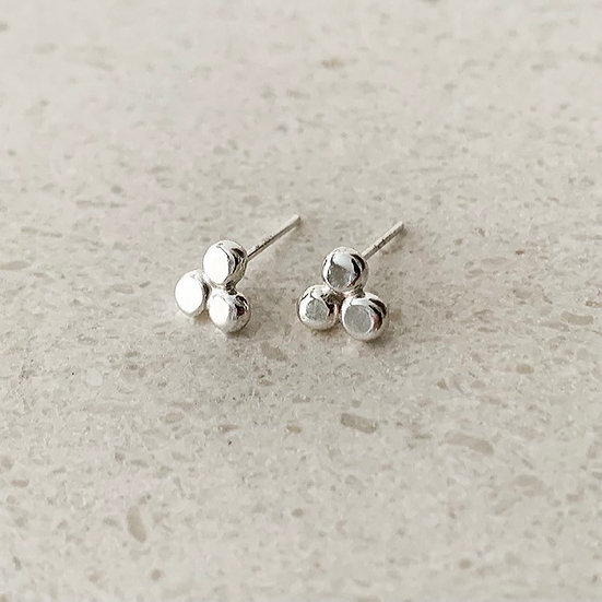 Trio Mini Stud Earrings