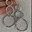 Thumbnail: Triple Hoop Earrings