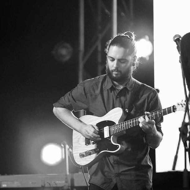 Francesco Becker-Schiavo at th Mahindra Blues Festival 2015