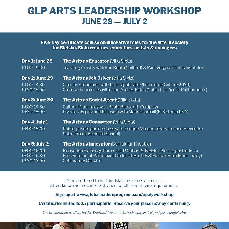 Arts Leadership Workshop